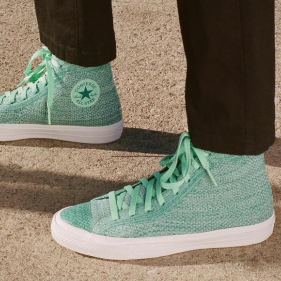 d8b9282b7bea Converse Chuck Taylor All Star x Nike Flyknit Hi